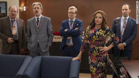 Kevin Dunn, Gary Cole, Andy Daly, Julia Louis-Dreyfus, Tony Hale in 'Veep'
