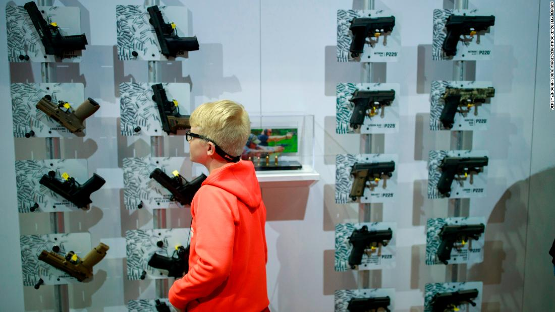 Locking up guns could reduce teen and childhood firearm deaths by a third - CNN