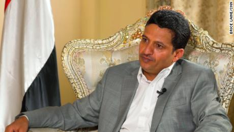 Hussin Al-Ezzi, deputy foreign minister of the Houthi government in Sanaa, says they are happy when aid reaches people.
