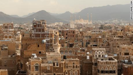 A view of Sanaa, the Yemeni capital, which is controlled by the Houthis.