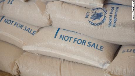 Aid supplies donated by the World Food Programme to Yemen are intended for specific populations.