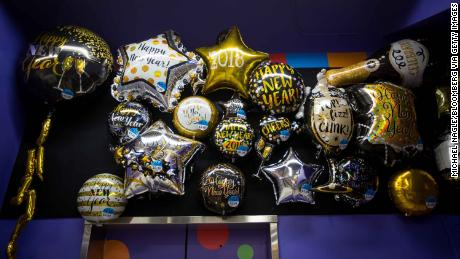 Party City ran out of helium to fill its balloons
