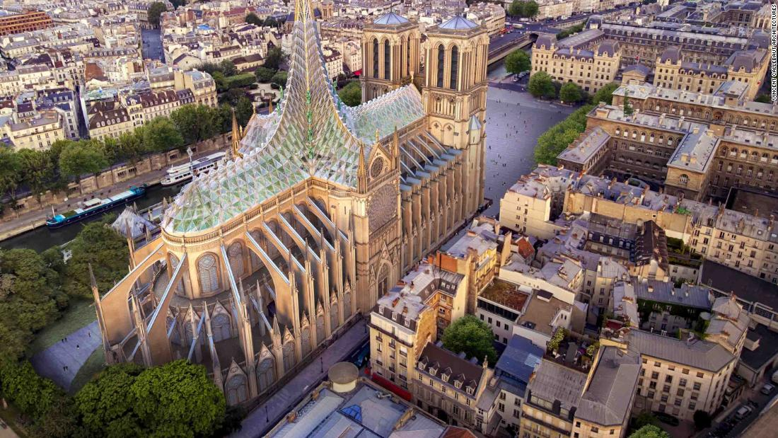 notre dame  architect unveils striking proposal for  u0026 39 green