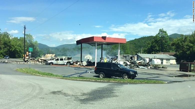 Police confirm 3 dead in gas station explosion