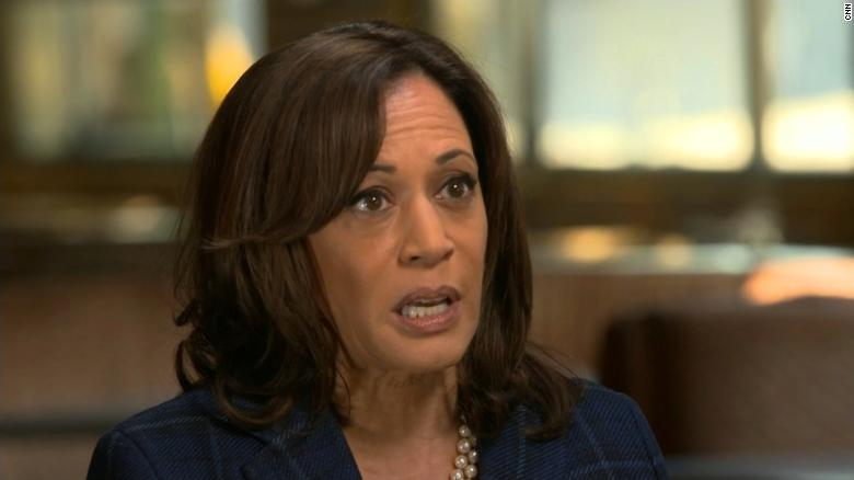 US presidential contender Kamala Harris favors look at breaking up Facebook