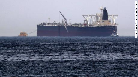 Le pétrolier Amjad a été endommagé lors d'attaques près de Fujairah en mai.
