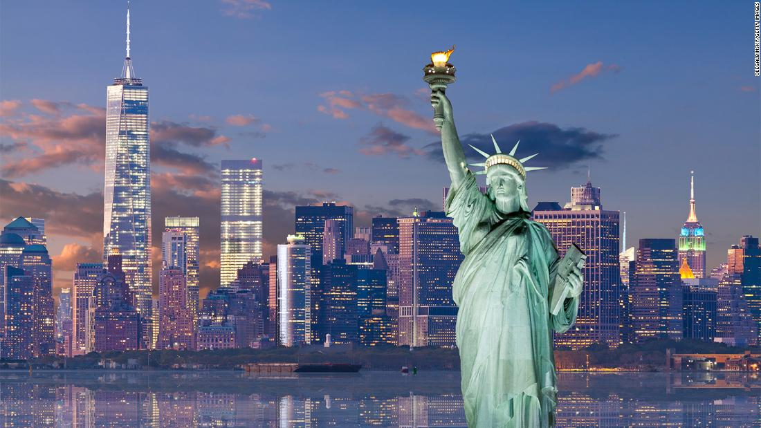 Statue Of Liberty History A Beacon Of Freedom Cnn Style