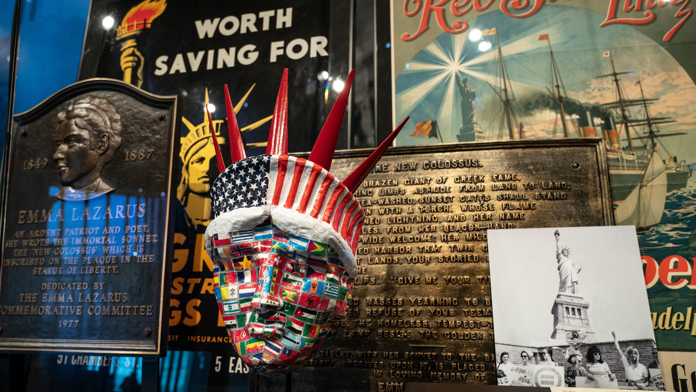Resultado de imagen para statue liberty new museum