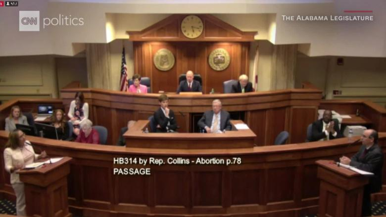 Alabama governor clears near-total abortion ban bill