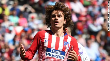 Atletico Madrid's French forward Antoine Griezmann has signed for Barcelona.