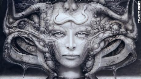 "The nightmarish works of H.R. Giger, the artist behind ""Alien"""