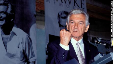 Tony Abbott's curious tribute to Bob Hawke