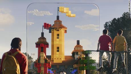 Minecraft Earth arrive sur les appareils mobiles.