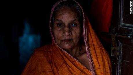 Krishna Pande dit que sa maison a 200 ans et que cinq générations de sa famille y ont vécu.
