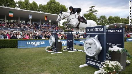 Maikel van der Vleuten and Dana Blue fisnihed second in the LGCT in Madrid.