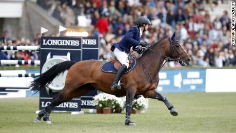 Martin Fuchs and Chaplin stormed home to grab victory in Madrid.