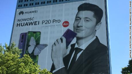 Sales outside of China accounted for nearly 50% of Huawei's smartphone business last quarter.