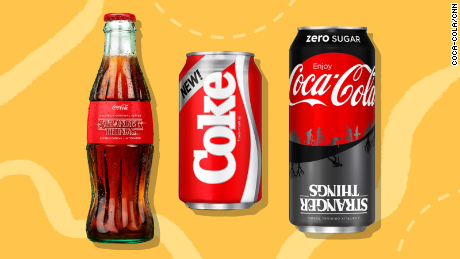 Coca-Cola's New Coke Is Coming Back for Stranger Things 3