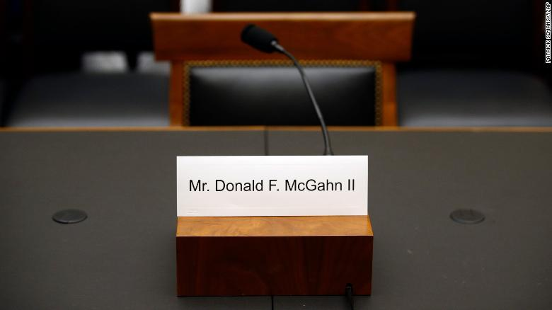 Don McGahn sued by House Judiciary Committee to force testimony