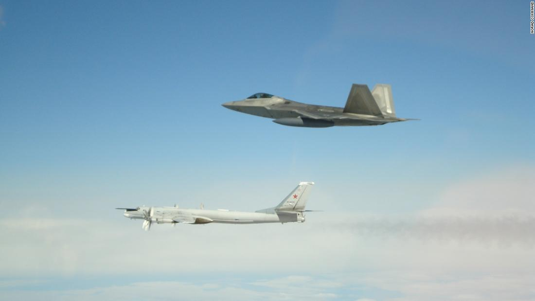 US intercepts Russian bombers, fighter jets off the coast of Alaska - CNNPolitics