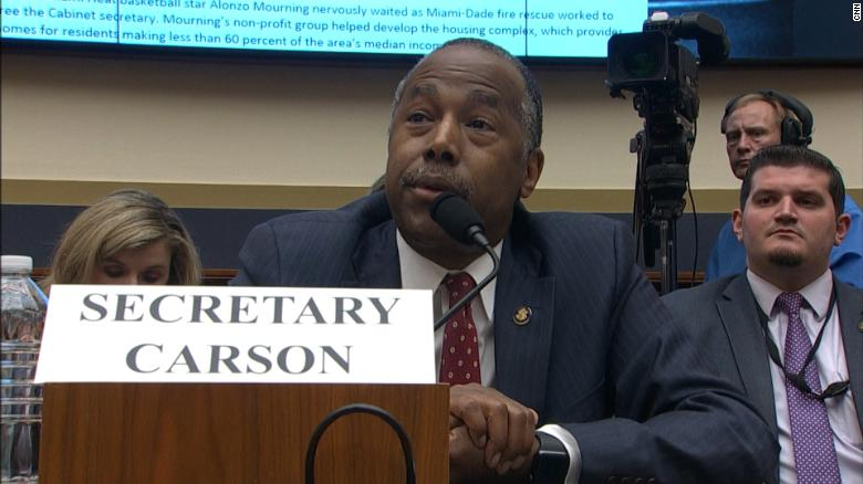 Housing Secretary Ben Carson confuses real-estate term with an Oreo