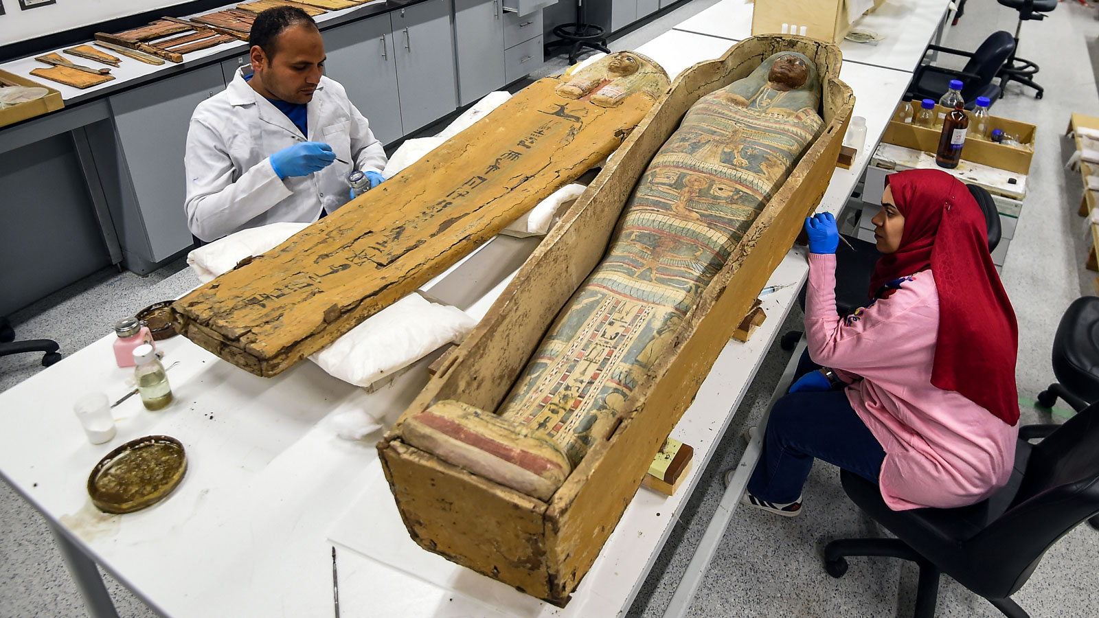 Grand Egyptian Museum in Cairo: 'Secret' tour takes travelers inside