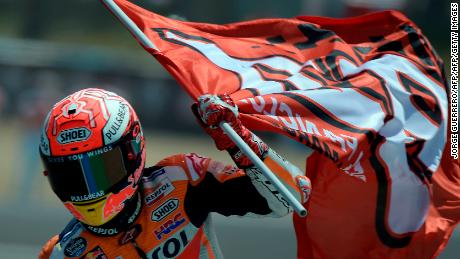 Another day, another win for Marquez ... this time at the Spanish Grand Prix in May.