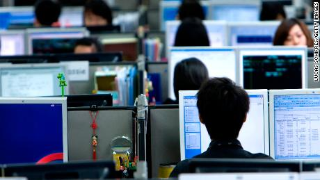 China's tech workers burn out mentally and physically in the '996' rat race