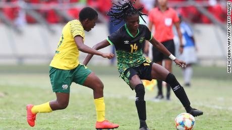 La Jamaïque sera l'équipe la moins bien classée en compétition à France 2019.