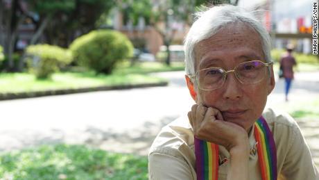 La militante des droits LGBT Chi Chia-Wei à Taïwan jeudi, à la veille du jour où le mariage homosexuel devient légal sur l'île