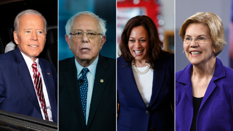 Biden leads, with Sanders, Warren, Buttigieg in tight race for second, CNN's Iowa poll shows