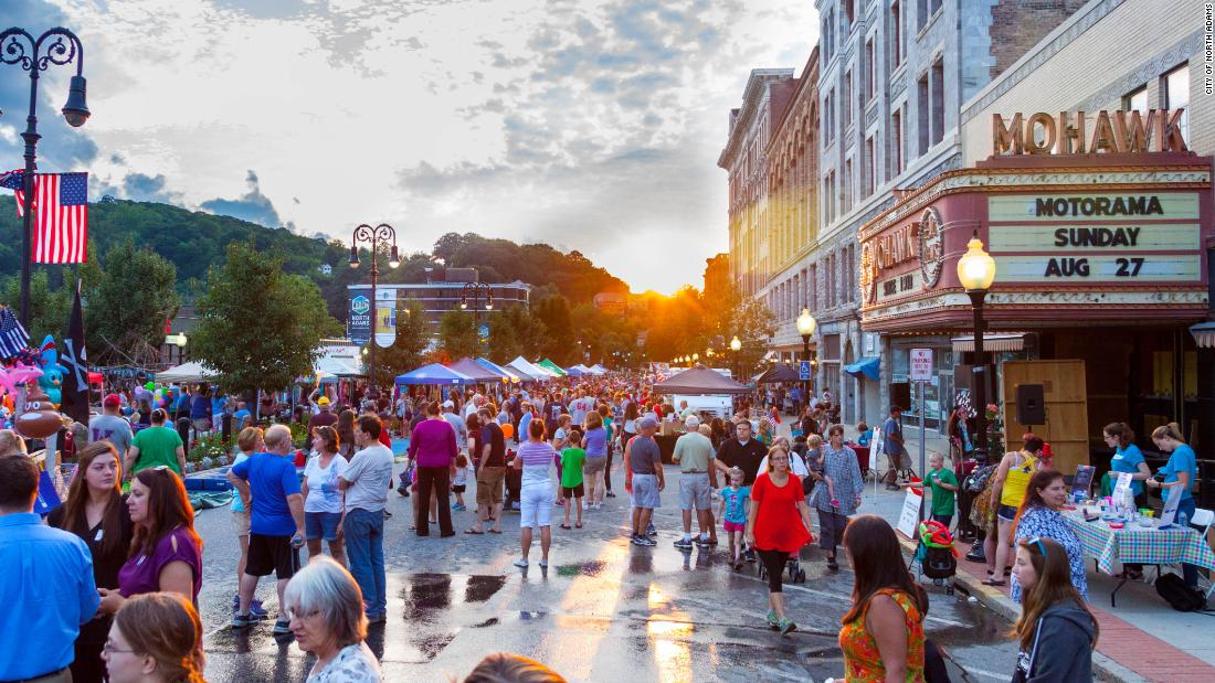 The New England town reinvented as a tourist hotspot