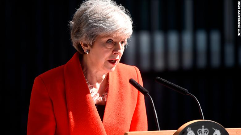 Theresa May resigns as British Conservative Party leader