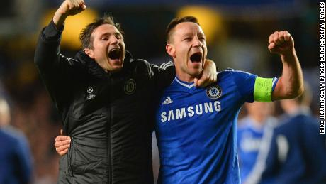 Former Chelsea teammates Frank Lampard and John Terry will be on the opposite side on Monday.