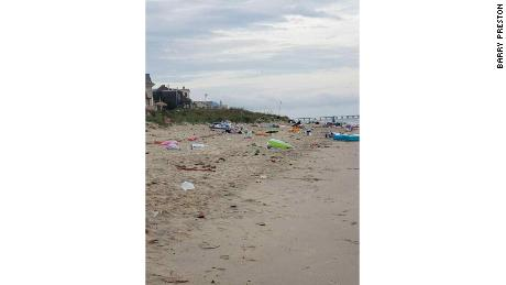 Tons Of Trash Collected On Beach After Memorial Day 'Floatopia' Event