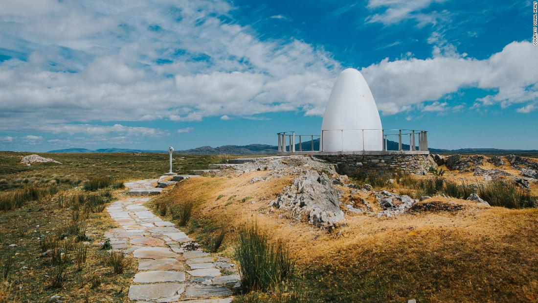 This egg-shaped monument in Ireland is one of the most important aviation sites in the world
