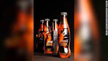 Le Coca-Cola Blak de courte durée.