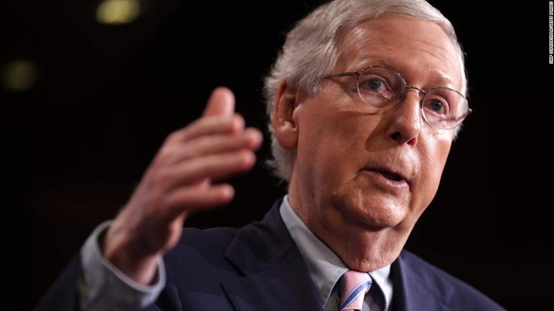Mitch McConnell's blockade of House legislation is about to face its toughest test - CNNPolitics