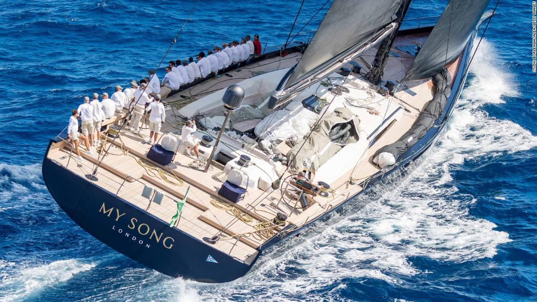 Luxury superyacht My Song lost at sea after falling off