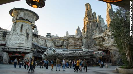 Touring the new Star Wars: Galaxy's Edge