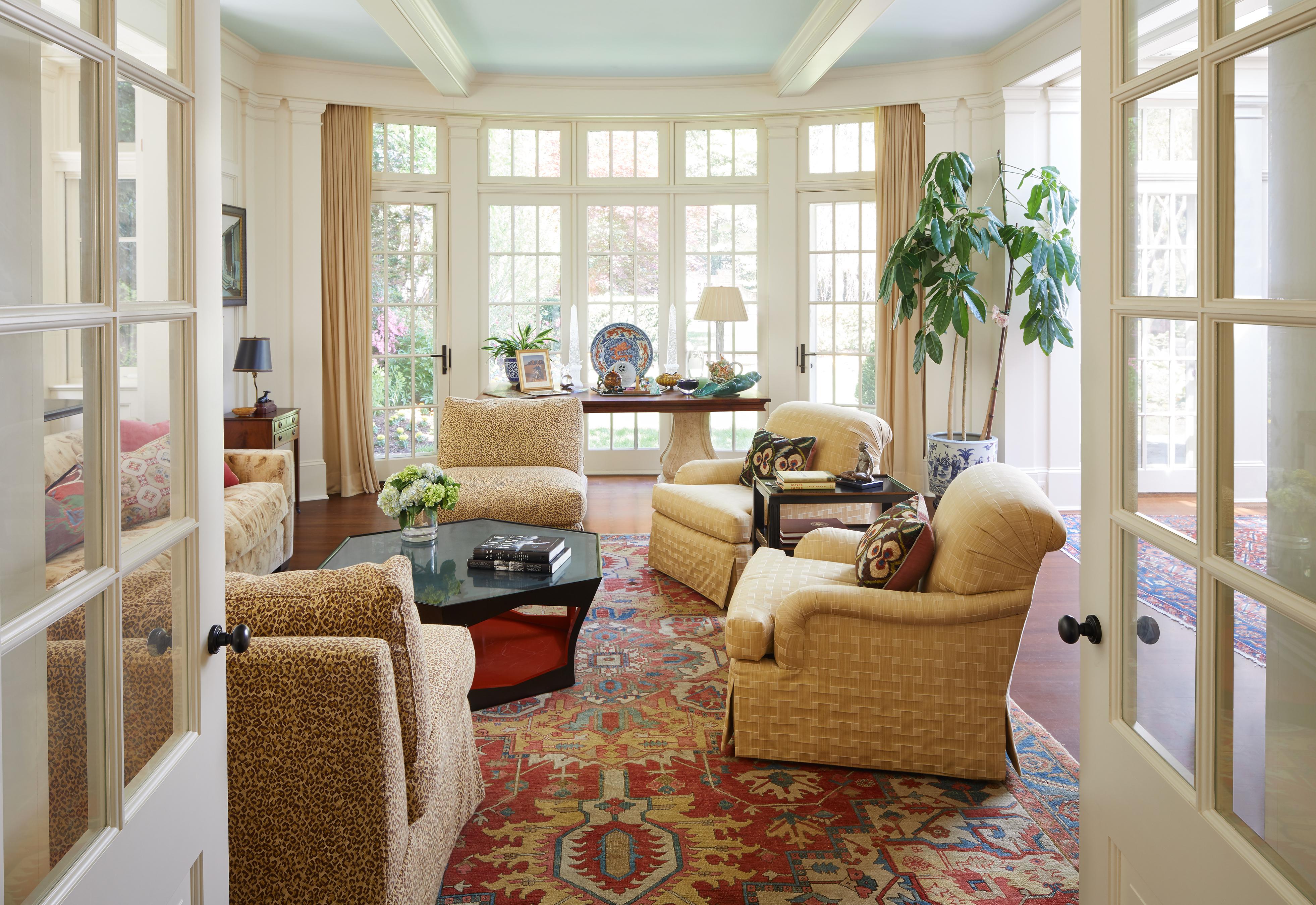 Admirable Inside Bill And Hillary Clintons Dc Home Cnn Style Interior Design Ideas Oteneahmetsinanyavuzinfo