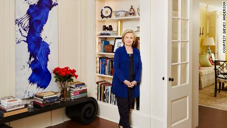 Hillary Clinton offers rare glimpse inside family's DC home