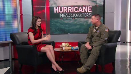 How hurricane hunters fly into storms