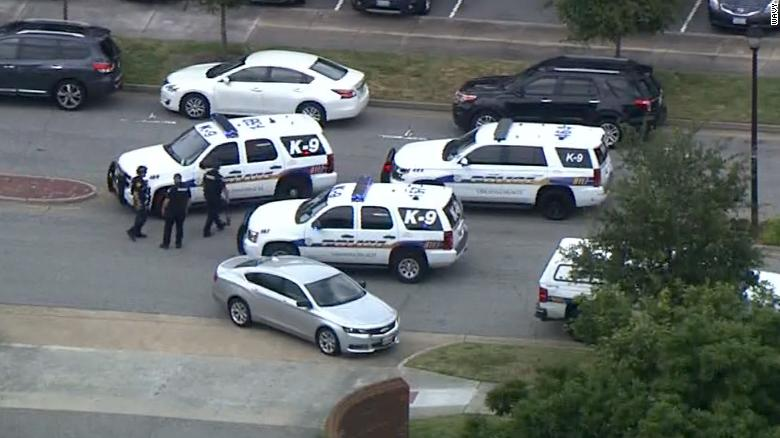 Dead, Six Wounded in Virginia Beach Shooting
