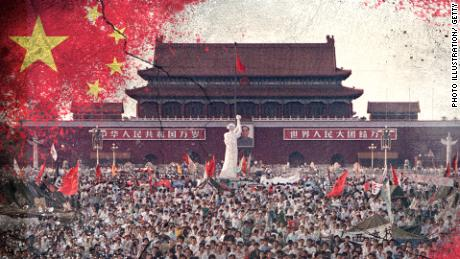 Ils ont fait face aux tanks sur la place Tiananmen. Maintenant, ils veulent que leurs enfants l'oublient