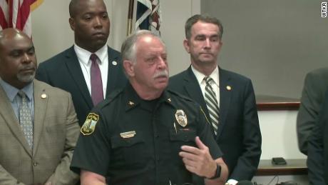 James Cervera, chef de la police de Virginia Beach
