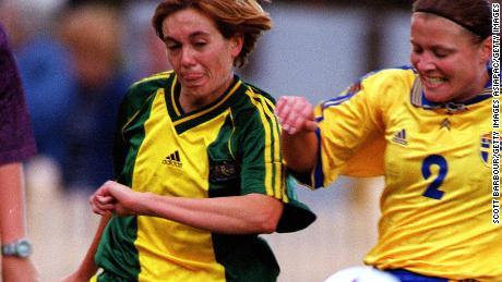 L'attaquant Boyd a fait 28 apparitions avec les Matildas.