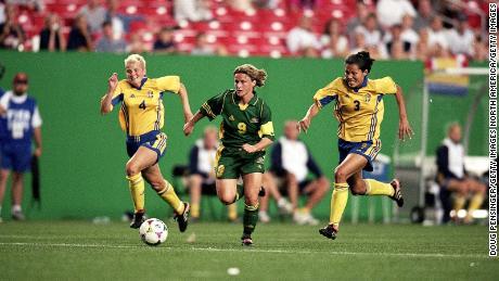 Les Matildas n'ont remporté aucun match à la Coupe du monde féminine 1999.