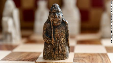 Lost Lewis Chessman worth over $1 million found in drawer