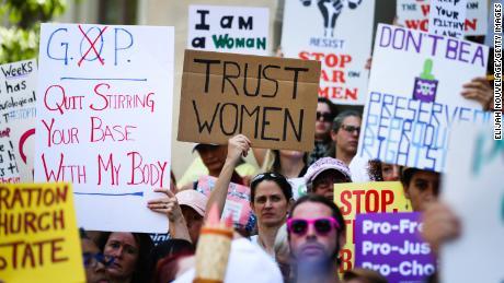 Sondage CNN: L'avortement gagne en importance pour les électeurs à l'approche des élections de 2020
